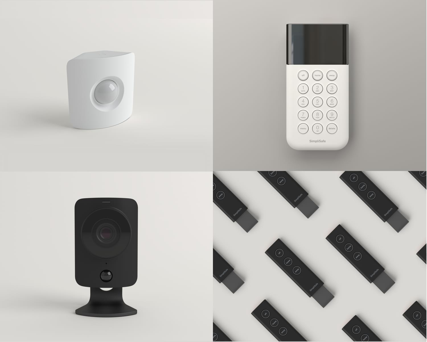 "Image of ""Build My System"" custom home security package."