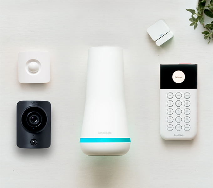 SimpliSafe Starter Home Security System